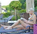 Elischeba genießt Wellness im Romantik Hotel BollAnts