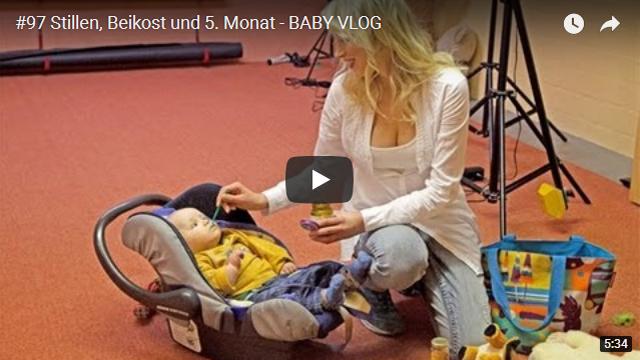 ElischebaTV_097_640x360 Baby Vlog Stillen Beikost fünfter Monat