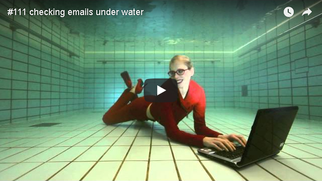 ElischebaTV_111_640x360 checking emails under water
